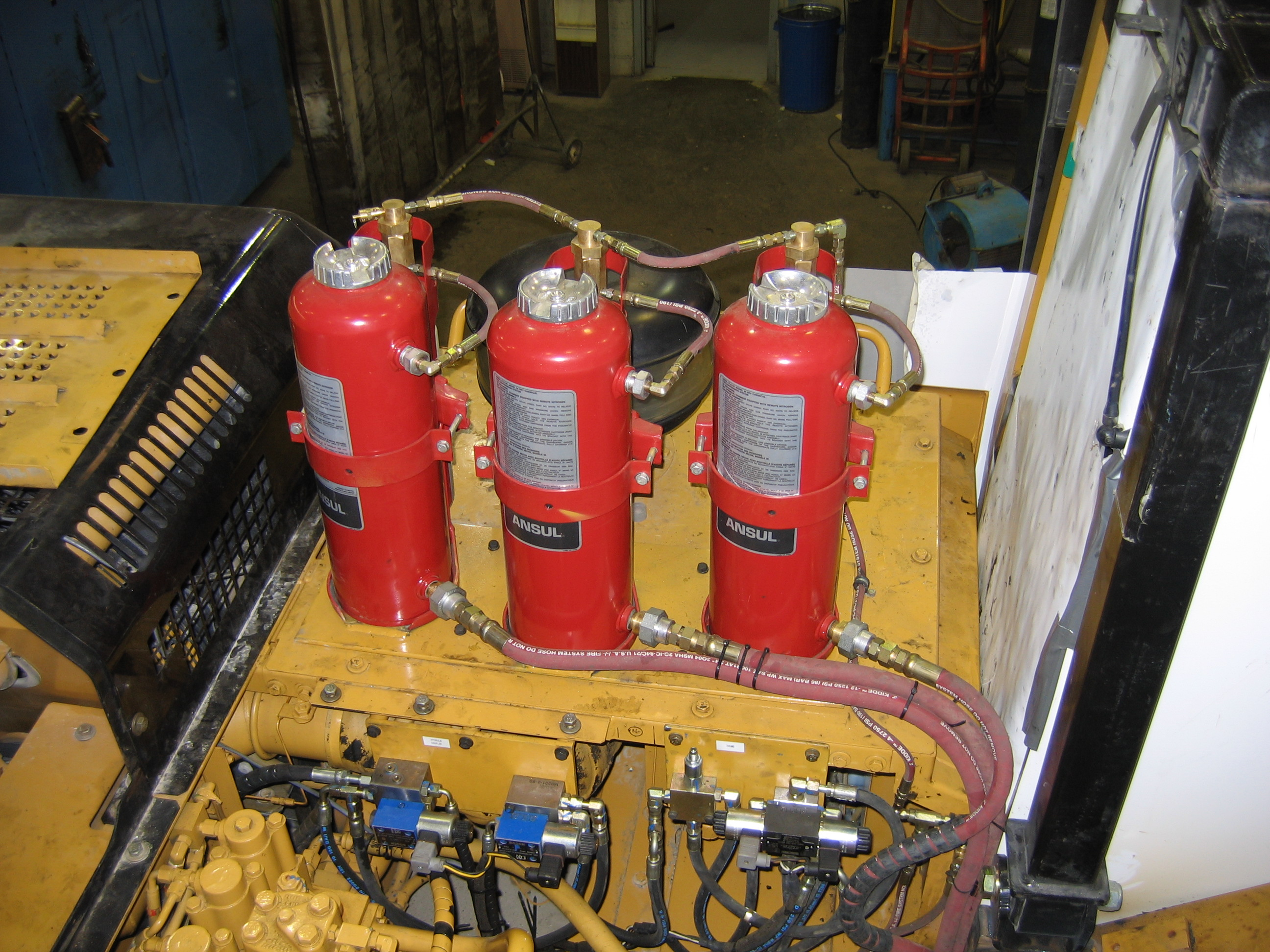 Vehicle Fire Systems : Vehicle fire suppression ansul system installation tn