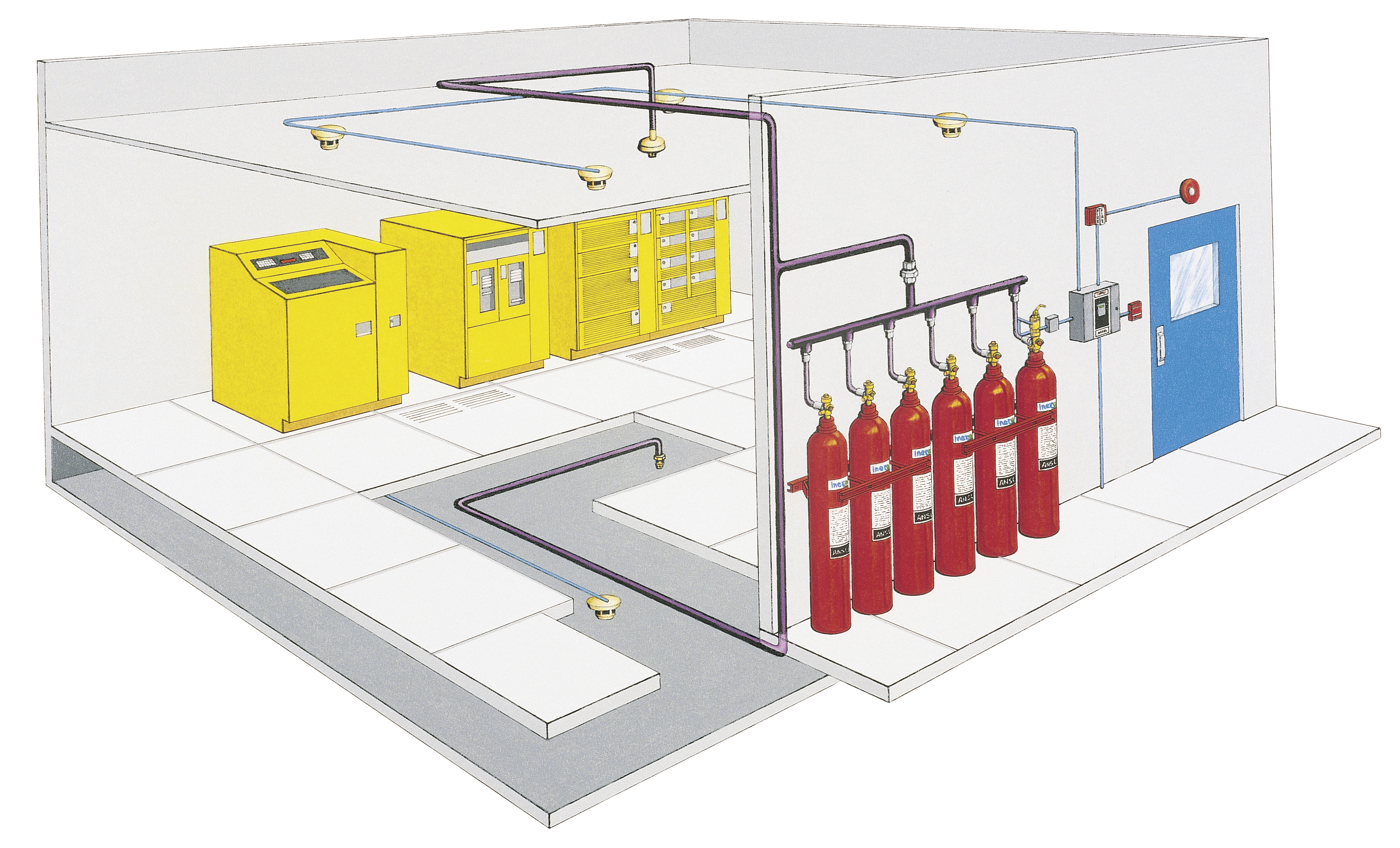 Fire Fighting System Design