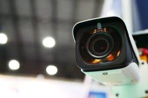 commercial video surveillance camera